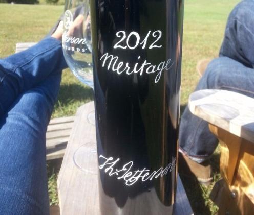 Thomas Jefferson Signature Bottle