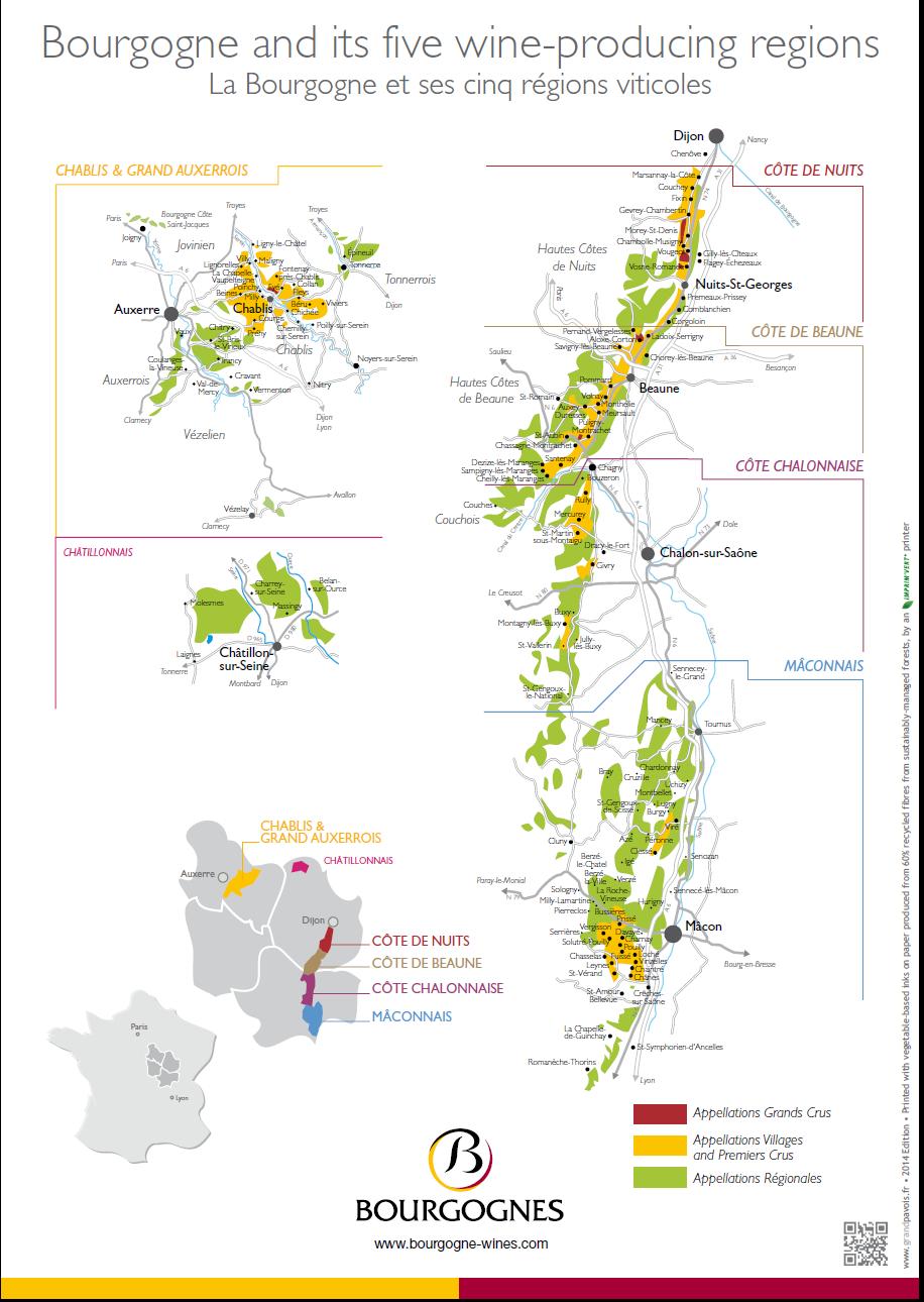bourgogne regions