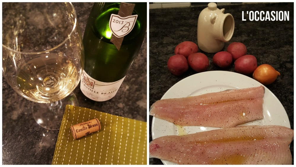 fish and wine alsace