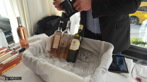 Nicolas from Château de Seuil shares his wines and details about their new facility