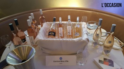 Credit: Jill Barth, The lineup from Château Real d'Or