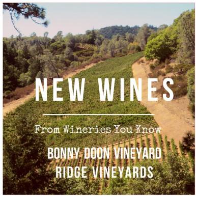new wines