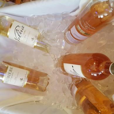 Credit: Jill Barth, Saint André de Figuère wines were a delight
