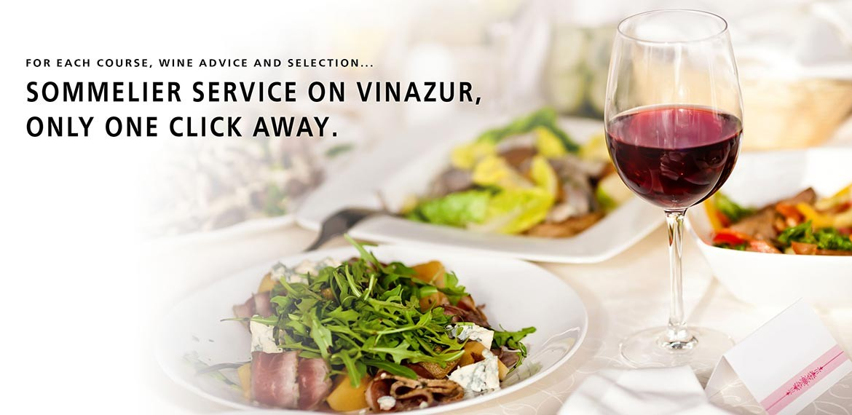 sommelier service vinazur