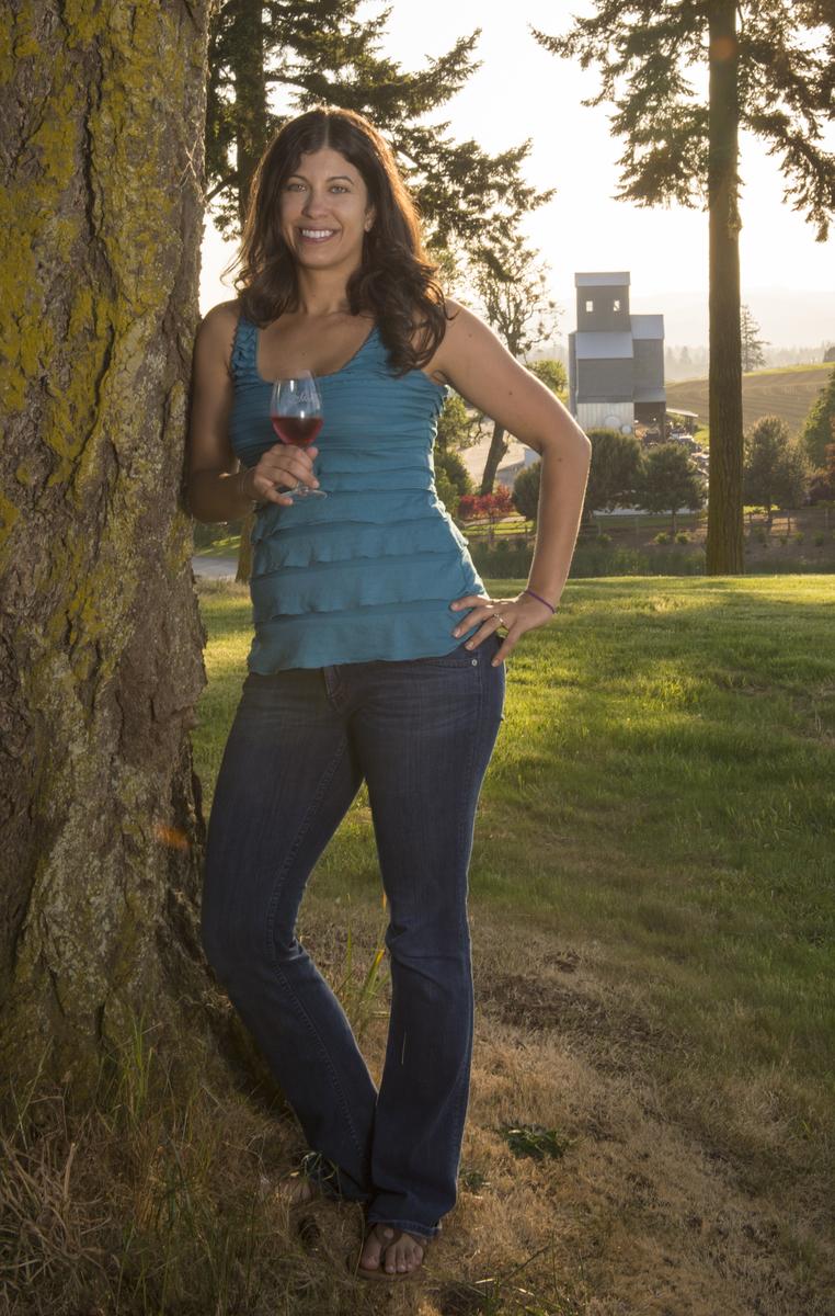 Winemaker Melissa Burr