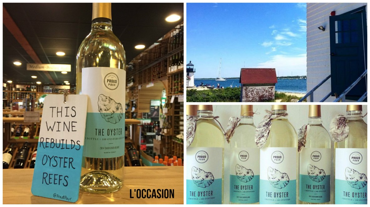 Proud Pour bottles and Nantucket