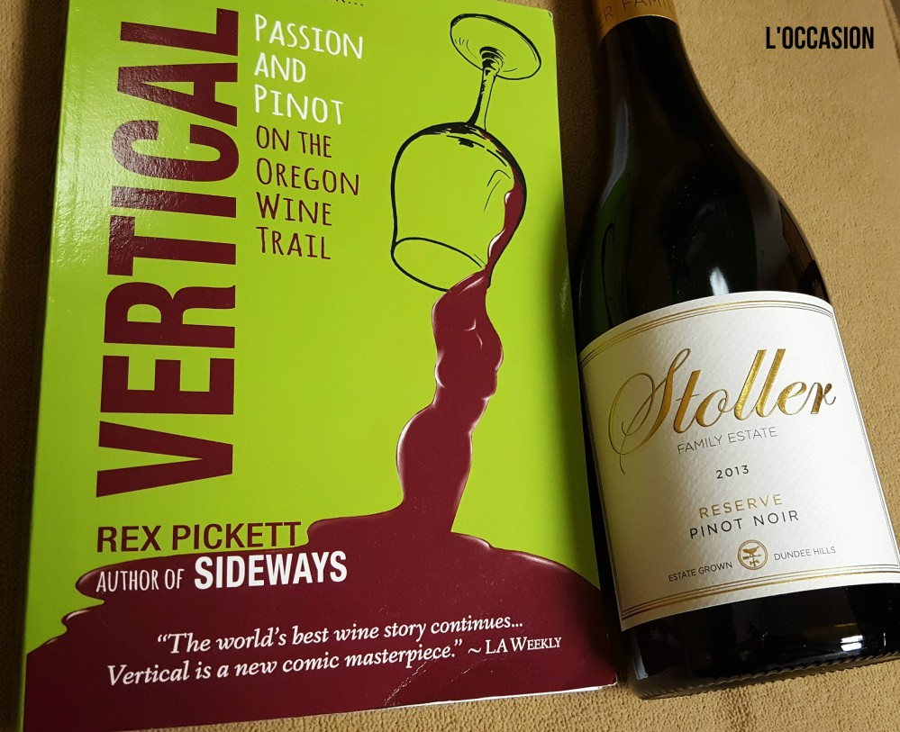 Vertical by Rex Pickett and Stoller Family Estate 2013 Dundee Hills Reserve Pinot Noir