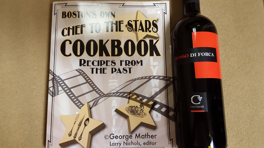 Chef to the Stars Cookbook with Centani Rosso di Forca