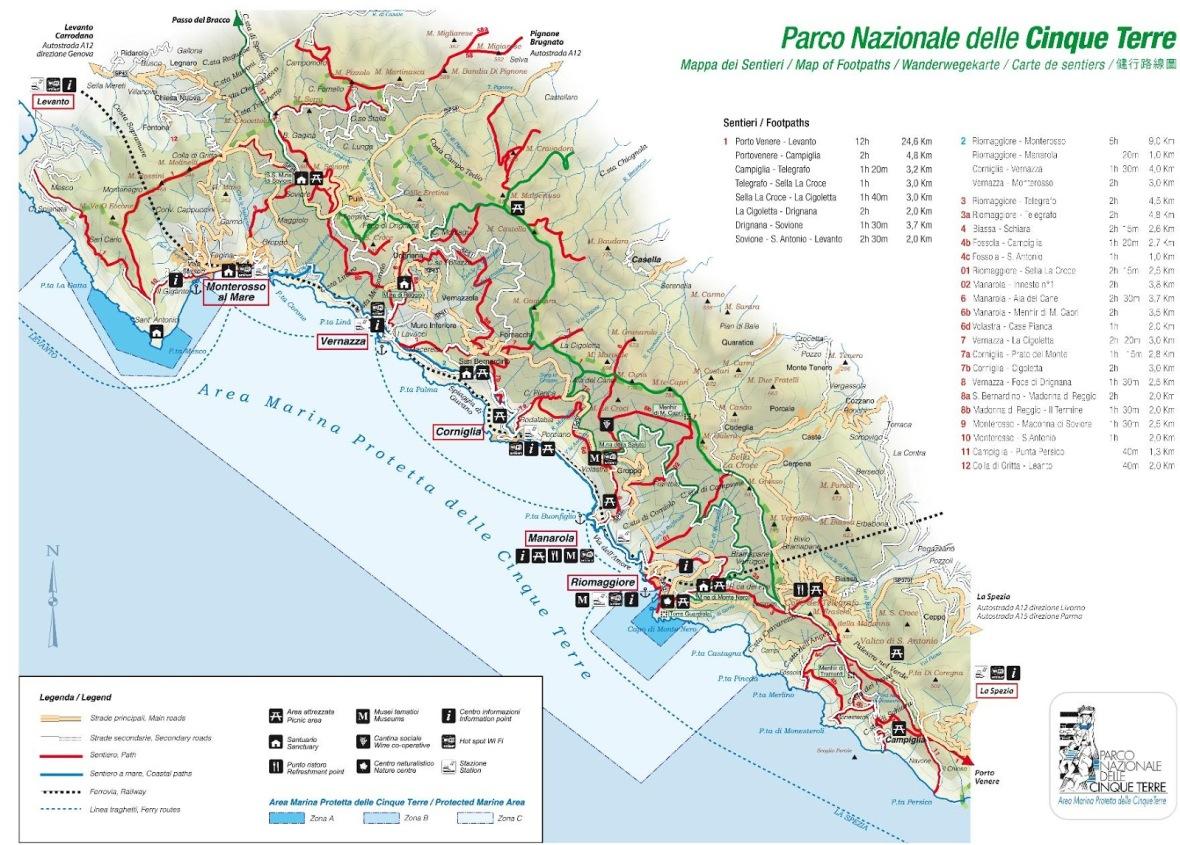 map-of-cinque-terre