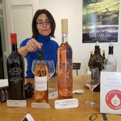 Domaine Dalmeran Magnum Wine Bottles
