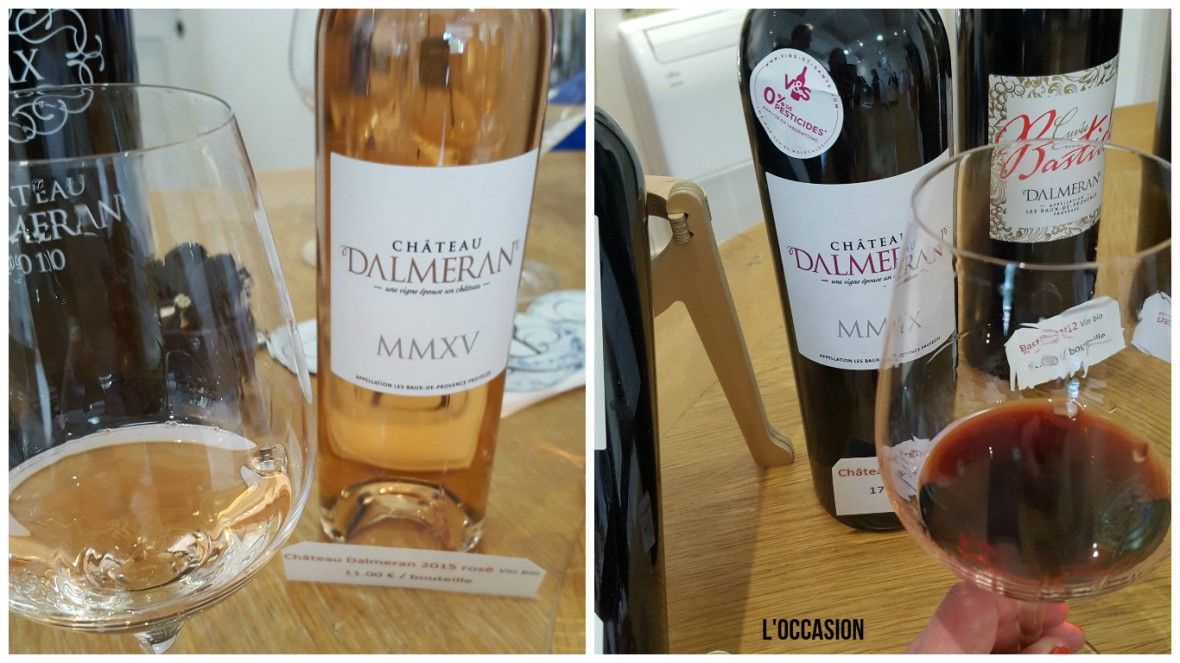 Domaine Dalmeran Provence Rosé and Red Wine