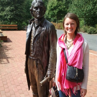 Thomas Jefferson at Monticello