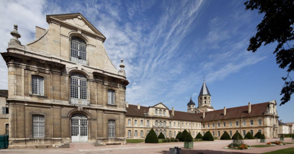 Travel in Burgundy, Macon, Abbey of Cluny