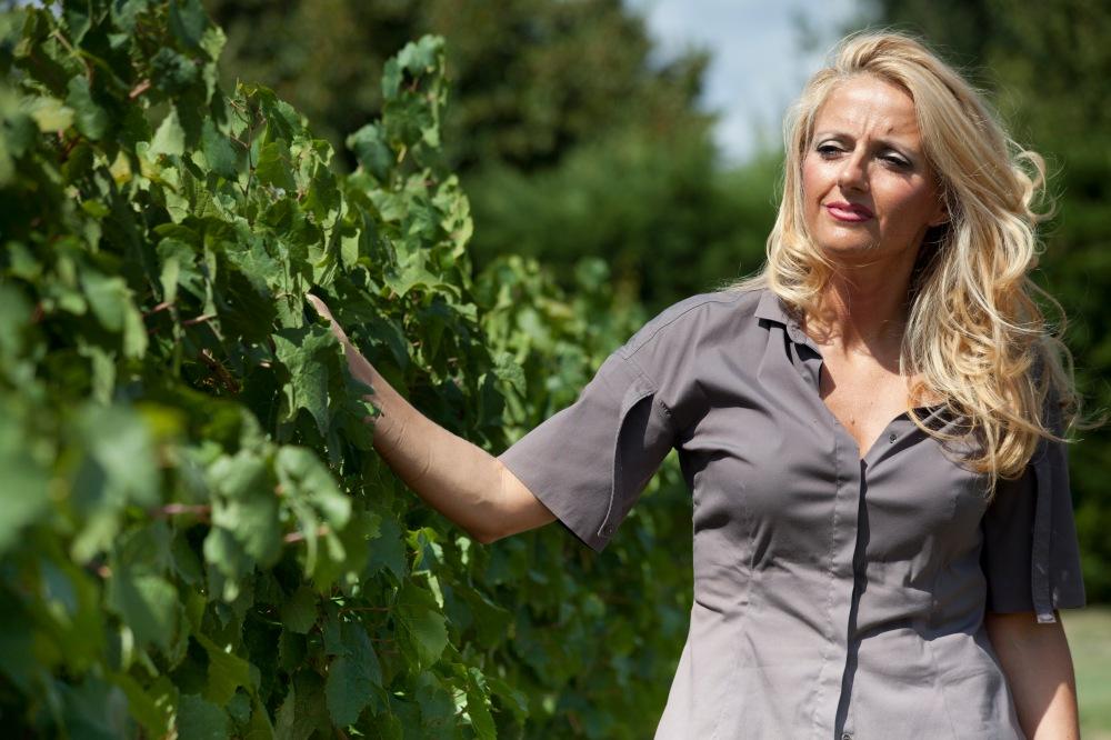 Dominga Cotarella of Falesco, Italian Winemakers