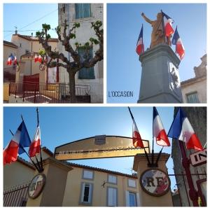 Le Mairie in Ventenac-en-Minervois, Languedoc
