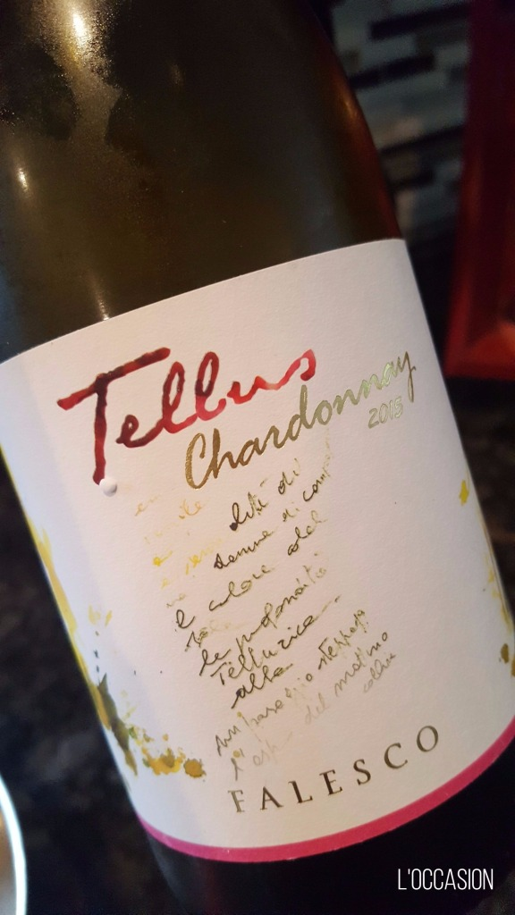 Tellus Chardonnay from Umbria, Italy