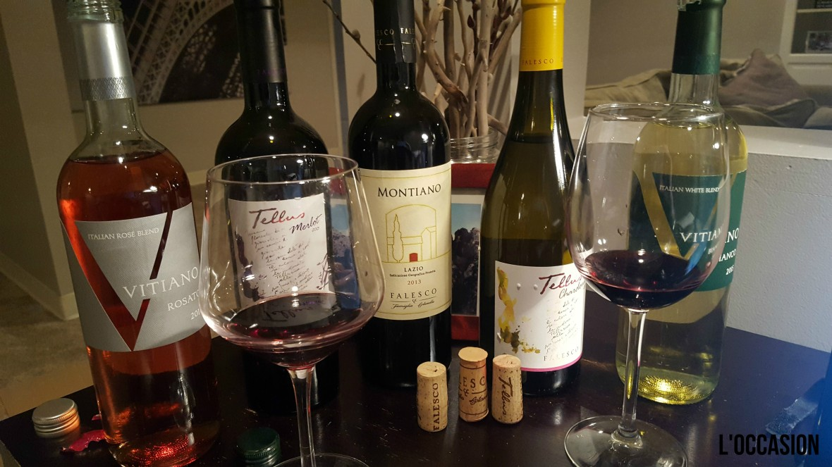 A lineup of fresh summer wines from Umbrian and Lazio