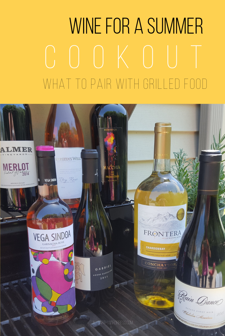 Wine for a Summer Cookout, Grill or BBQ