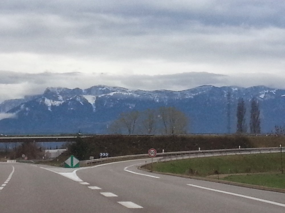 Italy, Switzerland and France - road trip made possible by Alpine passes.