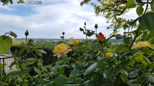 The village of Duras in Sud-Ouest France