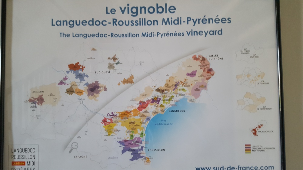 South of France wine, Where is the Languedoc