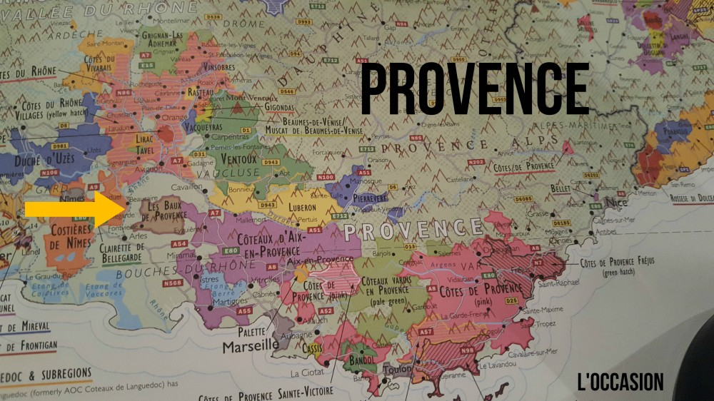 Provence Map