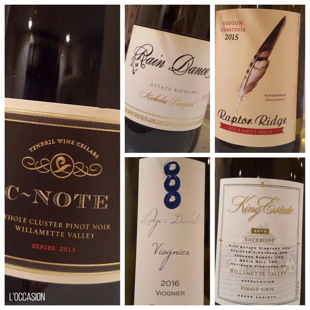 Oregon Wines, Willamette Valley, Pinot Noir