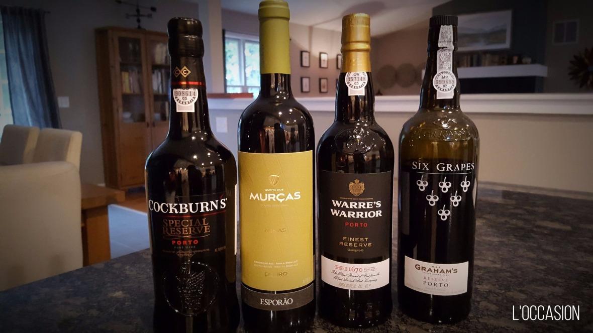 Portuguese vineyards, Porto, Six Grapes Port