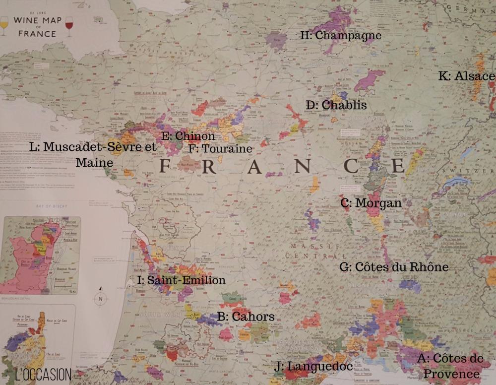 How is French wine classified, Alsace, Champagne, Loire Valley, Bordeaux, Rhône, Provence, Burgundy, Chabilis, Morgan, Côtes du Rhône, Languedoc, Cahors, Saint-Emilion, Muscadet-Sever et Maine, Chinon, Touraine