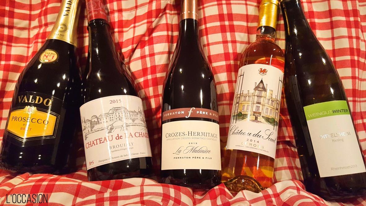 French Wine, Italian Wine, German Wine