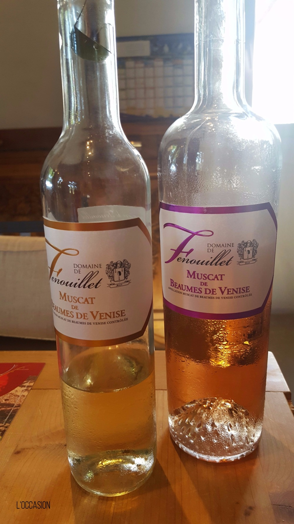 Dessert wine, sweet wine from France, southern French Wine