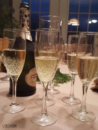 Italian Wine, Prosecco, Sparkling wine glasses, Champagne glasses
