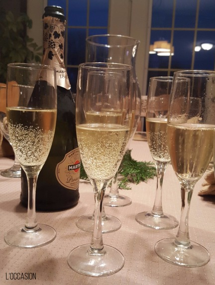 Italian Wine, Prosecco, Sparkling wine glasses, Champagne glasses