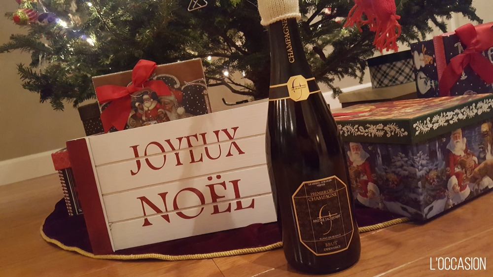 grower Champagne, Wine for Christmas, Joyeaux Noel,