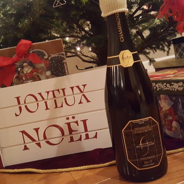 grower Champagne, Wine for Christmas, Joyeaux Noel,