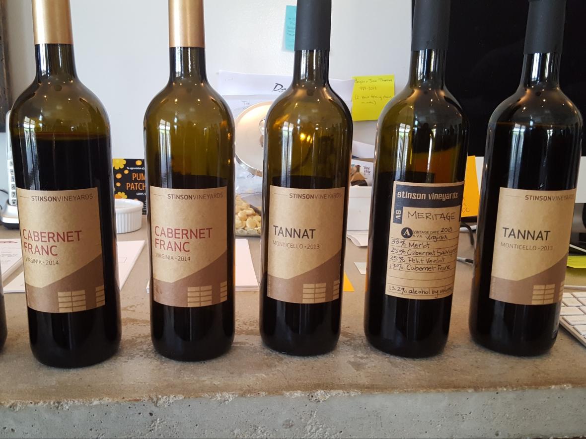 Virginia Wine, Meritage, Tannat, Cabernet Franc