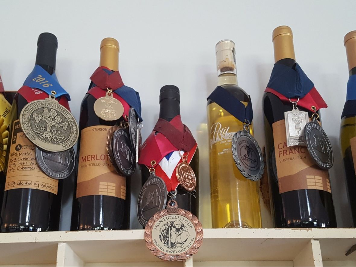 Virginia Wine, Monticello Wine trail