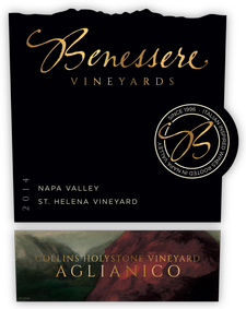 Collins Holystone Vineyard, Red wine, Napa Wine, Napa Green, Fish Friendly Farming