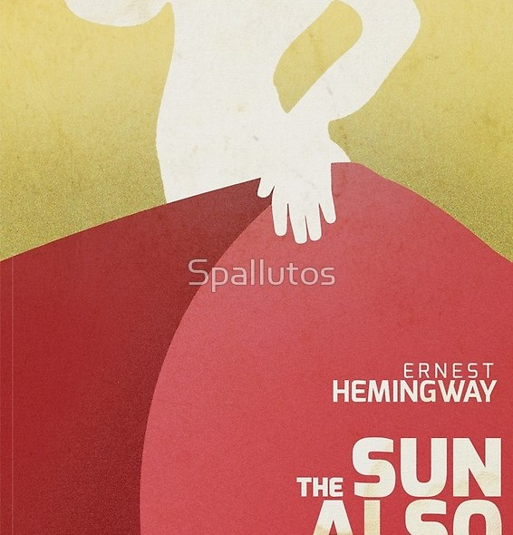 Cover art, books and wine, Hemingway, Spanish wine, Camino de Santiago