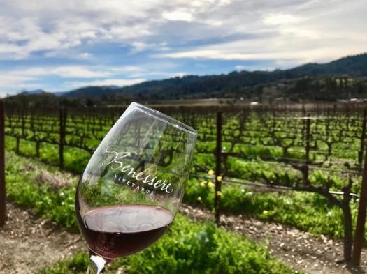 red wine from Napa, Italian wines in California