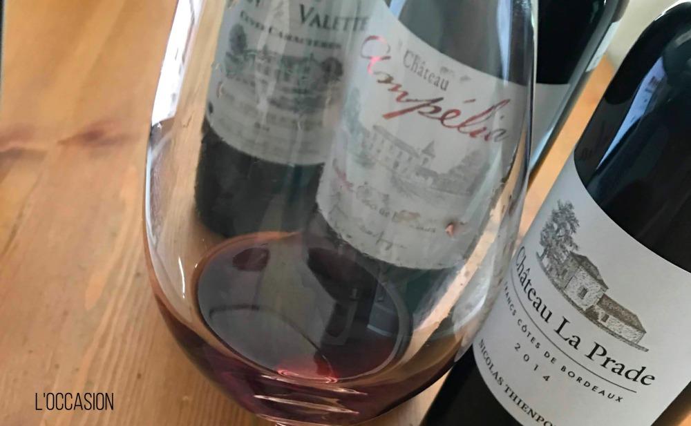 red wine for summer, bordeaux, merlot