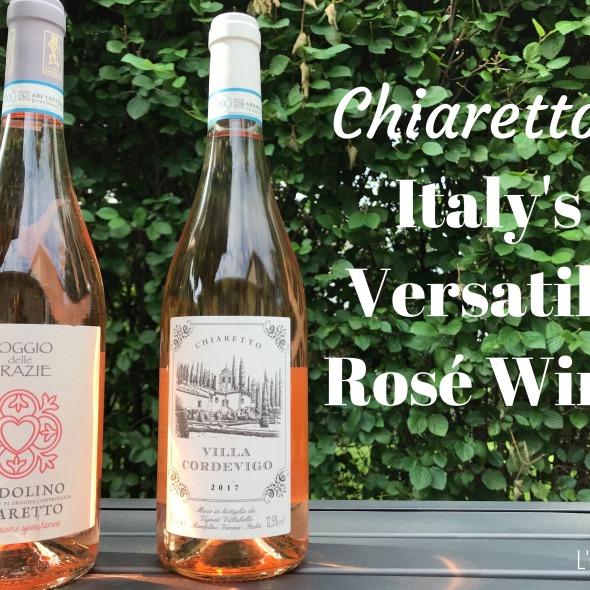 Italian wine, Italian Rosé, Bardolino, Villa Cordevigo