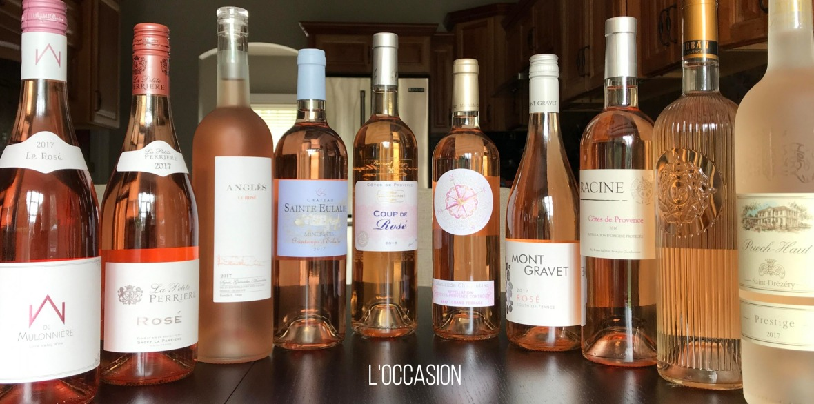 Rosé wines from France