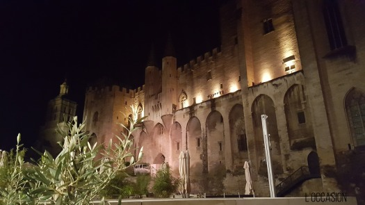 Avignon at Night