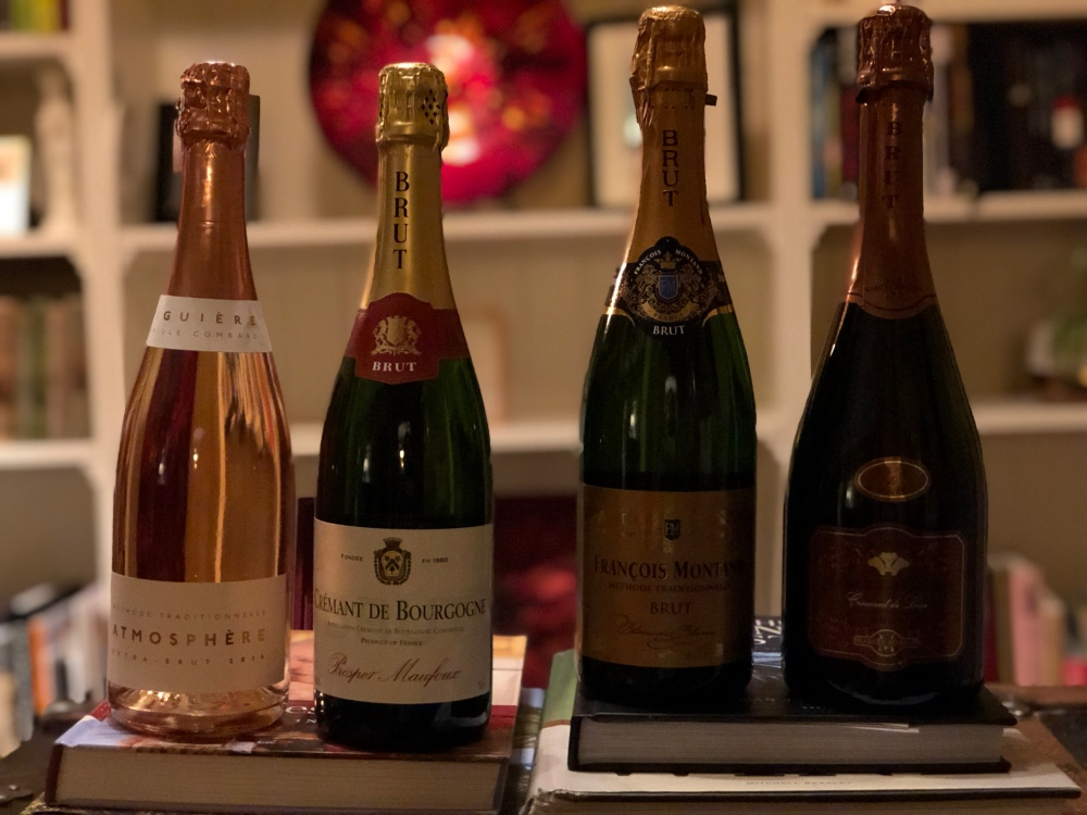 Bubbly wine, French wine, cremant