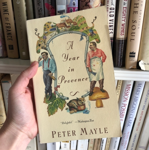 A Year In Provence by Peter Mayle.