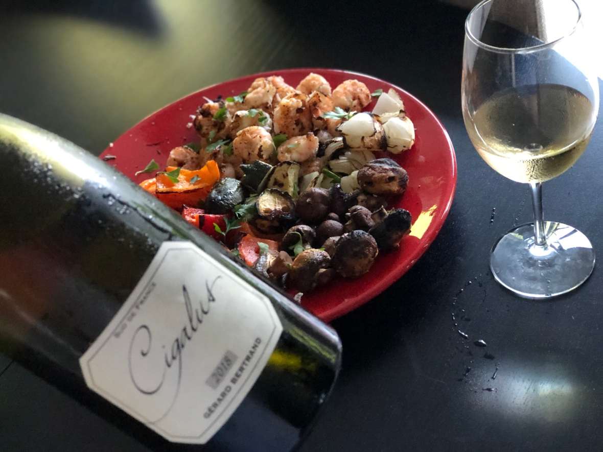 Languedoc white wine, biodynamic French wine