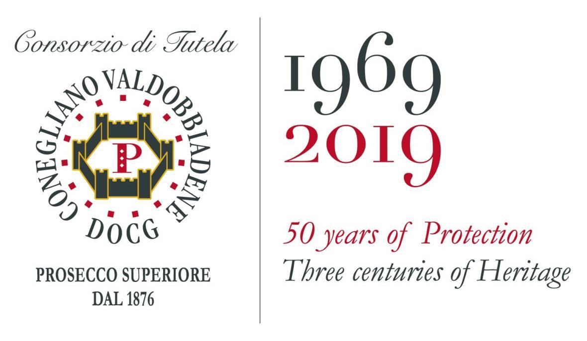 Prosecco Anniversary Logo