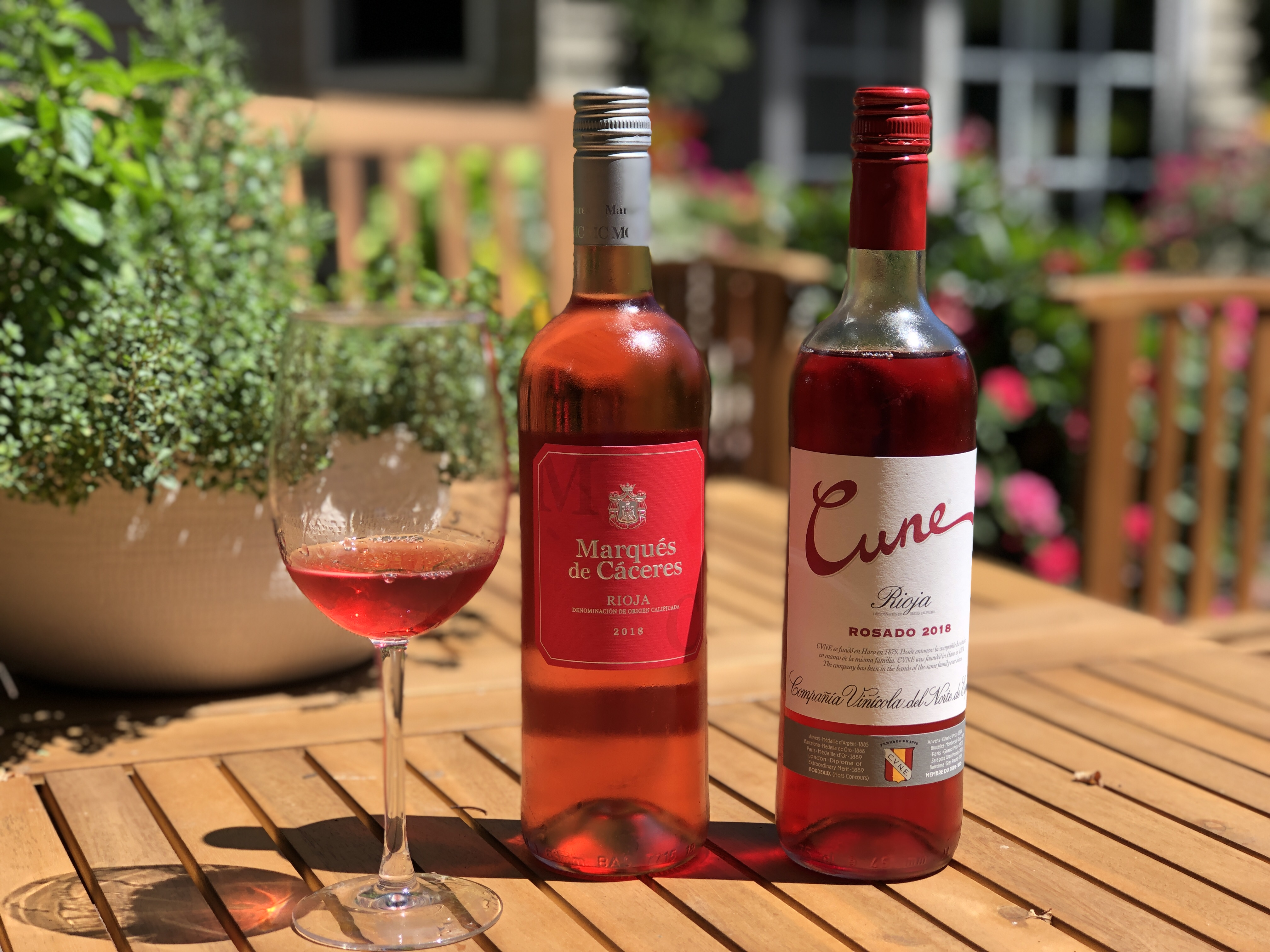 On The Grill With Rioja Wine Including Rosado L Occasion