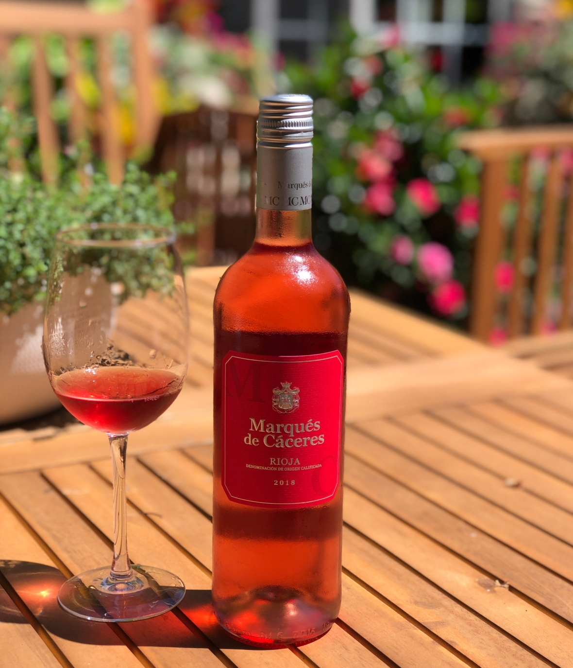 new Rioja classification, pale Spanish rosé